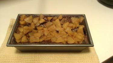 Gluten Free SCD Apple Cinnamon Cheese Cake, at rest. kettlemeddler.com