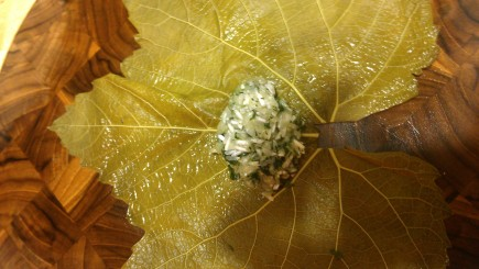 Stuffed Grape leaf, Filling