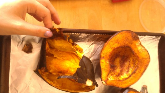 How to clean acorn squash