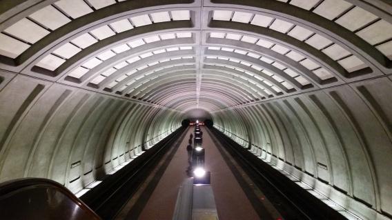 Subway Station. Washington, DC