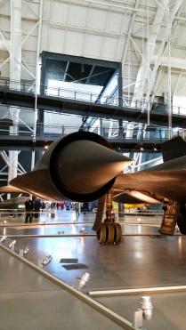 SR-71 Blackbird, Udvar-Haazy Center. Chantilly,VA